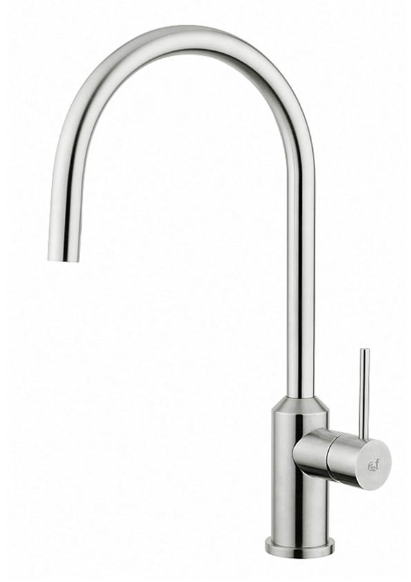 Stainless steel tap made in italy by Breschi. The top of the quality for a kitchen tap. It's taken from a stainless steel block for milling and turning.