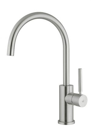 Stainless steel tap, Rampina is the ultimate tap. It is designed as a child would imagine a tap